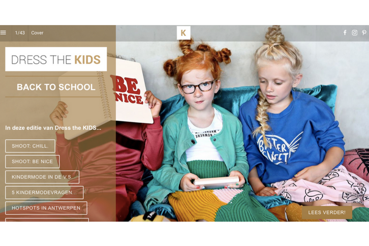 Dress the KIDS 'Back to school' out now!