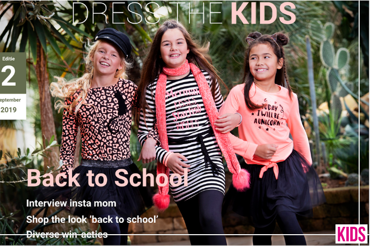 Dress The KIDS 2 Is Out! Back To School