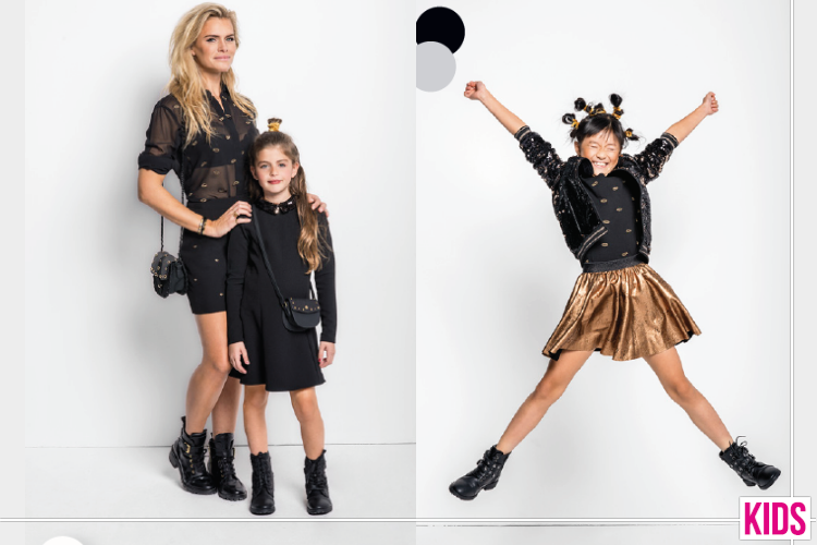Launch Mini-Me Party Collectie Van Shoeby En Nicolette Van Dam
