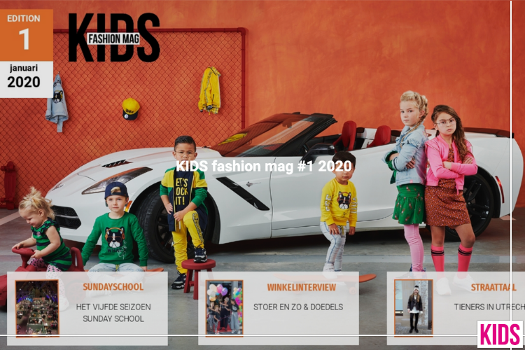 KIDS Fashion Mag #1 2020 Is Uit: Een Spectaculaire Beurseditie